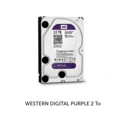 WESTERN DIGITAL PURPLE 2 To