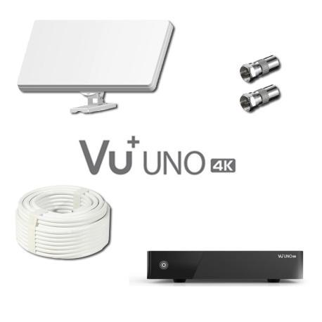 Kit Selfsat H30D2 & VU+ UNO 4K