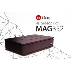 MAG 351 / MA G352 IPTV BOX Multimedia Player TV 4K WIFI 2.4