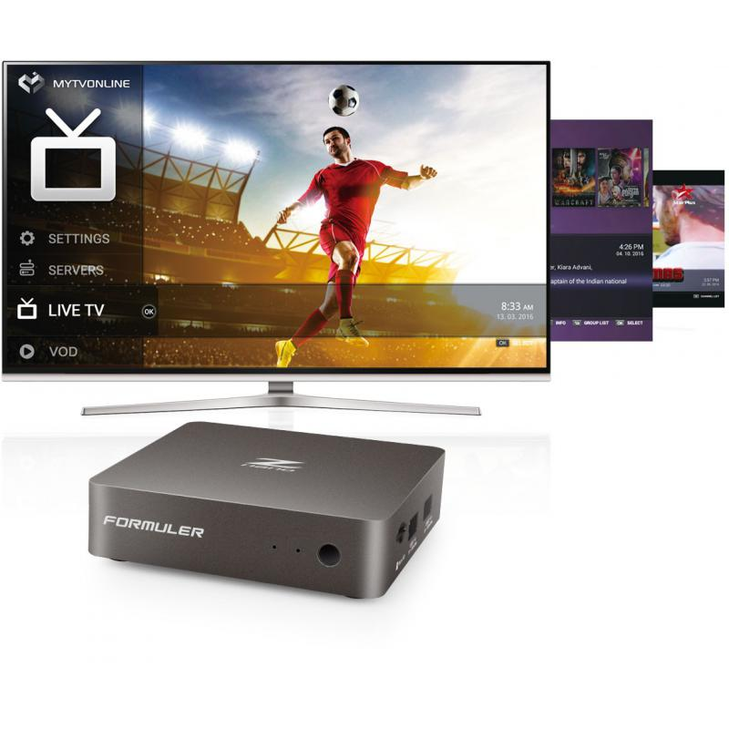 Box IPTV Formulate Z Nano - compatible any subscription with