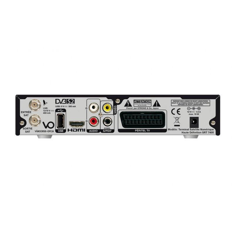 Carte Belgique Hd.Decodeur Satellite Fransat Strong Srt 7405 Vu Seeandsound Be