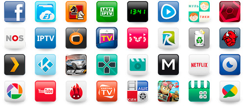 Android apps pour IPTV