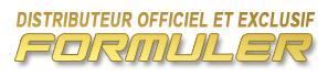 distributeur officiel et exclusif Formuler